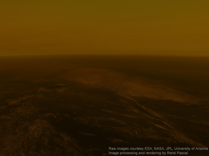 About 10% of the sunlight that is present at the outer atmosphere of Titan ...